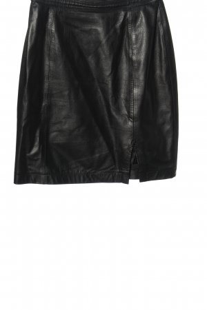 Class Leather Skirt black casual look