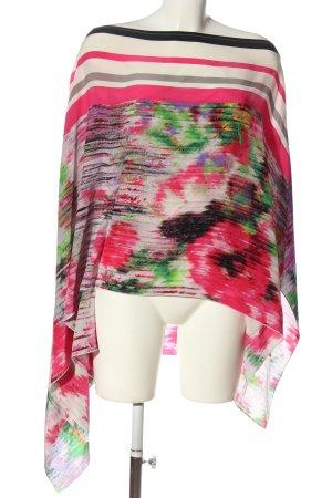 CLASS Roberto Cavalli Kimono Blouse abstract pattern casual look