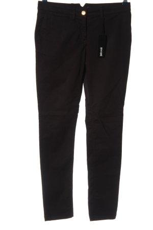 CLASS Roberto Cavalli Spodnie rurki czarny W stylu casual