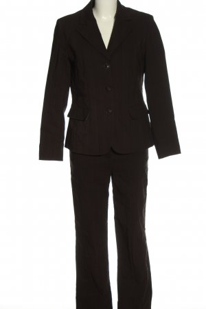 Classic by michele boyard Trouser Suit black allover print casual look