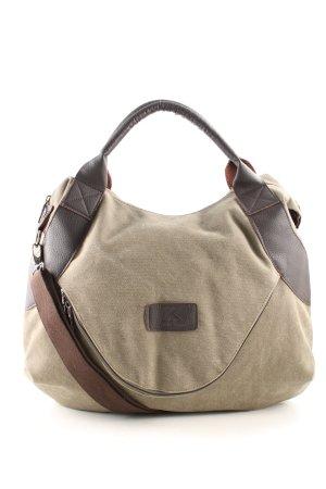 Classic Shopper cream-brown casual look