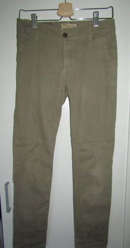 Made in Italy Jeans slim gris vert-vert olive coton