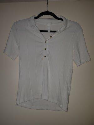 H&M L.O.G.G. Koszulka polo biały
