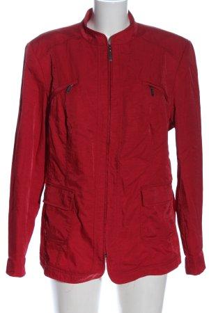 Classic Between-Seasons Jacket red casual look