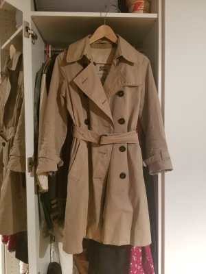 Burberry Trench Coat camel cotton