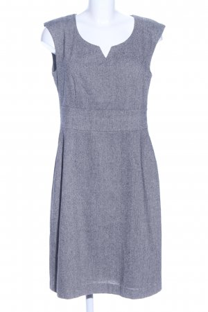 Woolen Dress light grey flecked business style