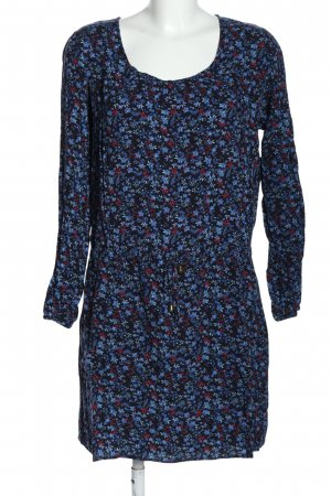 Classics meets Trends Longsleeve Dress flower pattern casual look