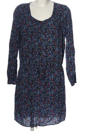 Classics meets Trends Sukienka z długim rękawem Na całej powierzchni