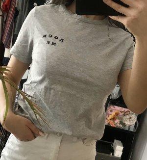 Mango T-shirt argenté