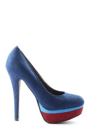 Claudia Ghazzani High Heels blau Elegant