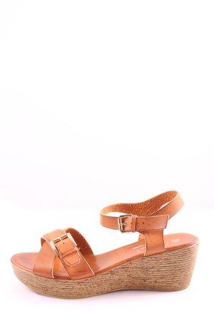 Claudia Ghizzani Wygodne sandały jasny pomarańczowy W stylu casual