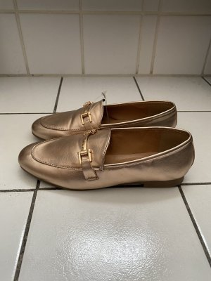 Claudia Ghizzani Slippers rose-gold-coloured