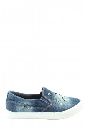 Claudia Ghizzani Slip-on Shoes blue casual look