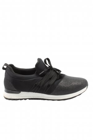 Claudia Ghizzani Lace-Up Sneaker black casual look