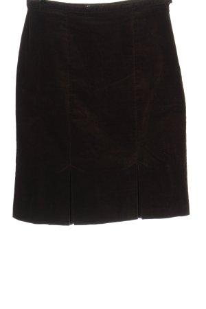 Claudia Schiffer High Waist Skirt brown casual look