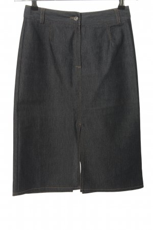 Claudia Schiffer Pencil Skirt light grey casual look