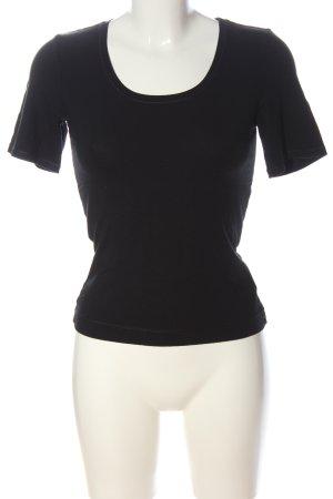 Claudia Sträter Basic Shirt black casual look