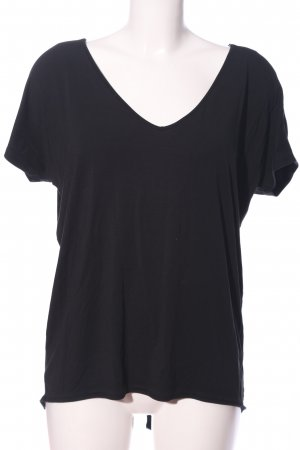 Claudia Sträter Short Sleeved Blouse black casual look