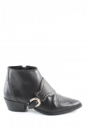 Claudie Pierlot Ankle Boots schwarz Business-Look
