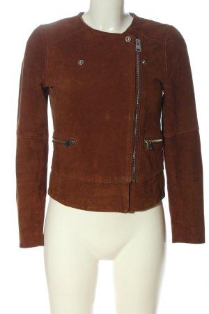 Claudie Pierlot Biker Jacket brown casual look