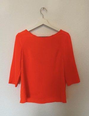 Claudie Pierlot Tunic Blouse neon orange