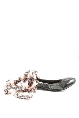 Claudie Pierlot Bailarinas plegables estampado floral look casual
