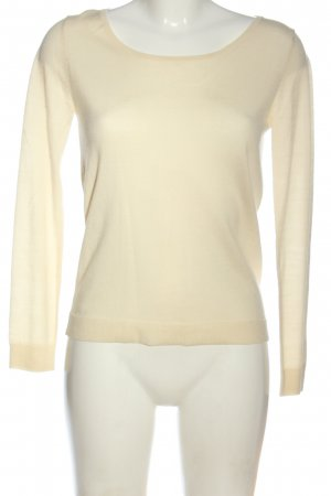 Claudie Pierlot Fine Knit Jumper cream casual look