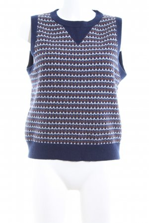 Claudie Pierlot Feinstrickpullunder Allover-Druck Casual-Look