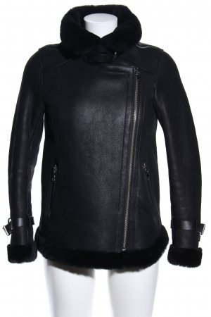 Claudie Pierlot Fliegerjacke schwarz Casual-Look