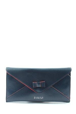 Claudie Pierlot Wallet blue-red themed print casual look