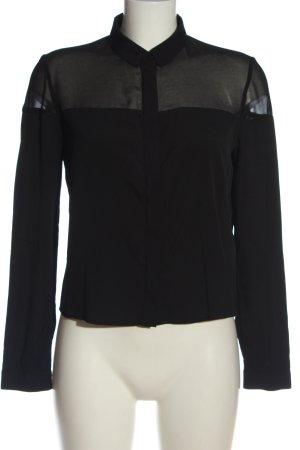 Claudie Pierlot Koszulowa bluzka czarny W stylu biznesowym