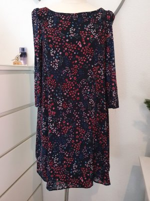 Claudie Pierlot A Line Dress dark blue-dark red mixture fibre