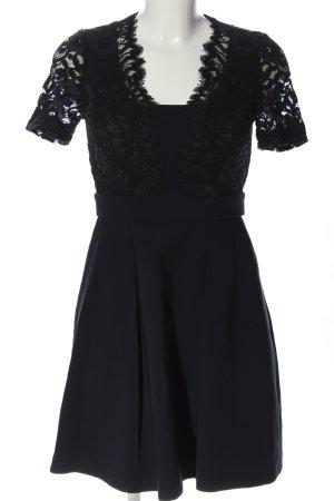Claudie Pierlot Sukienka z krótkim rękawem czarny Elegancki
