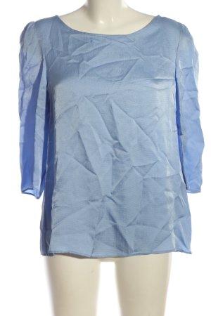 Claudie Pierlot Langarm-Bluse blau Casual-Look
