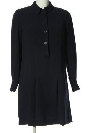 Claudie Pierlot Sukienka z długim rękawem niebieski W stylu casual