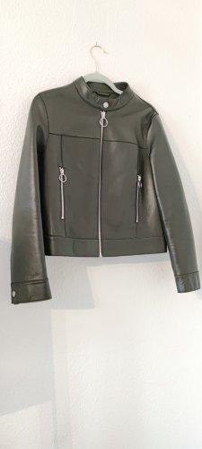 Claudie Pierlot Leather Jacket black