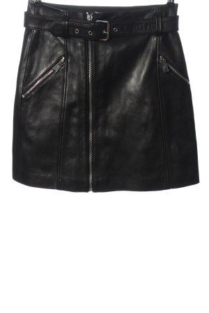 Claudie Pierlot Leather Skirt black casual look
