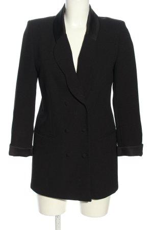 Claudie Pierlot Long-Blazer schwarz Business-Look