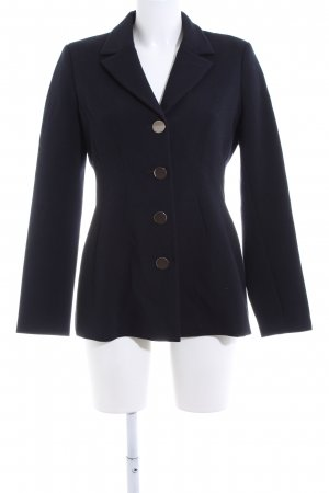 Claudie Pierlot Long-Blazer blau Business-Look