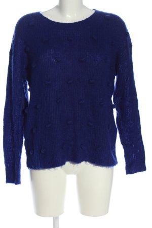 Claudie Pierlot Maglione girocollo blu stile casual