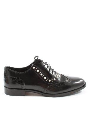 Claudie Pierlot Lace Shoes black business style