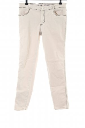 Claudie Pierlot Slim Jeans creme Casual-Look