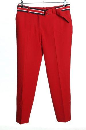 Claudie Pierlot Spodnie materiałowe czerwony W stylu casual