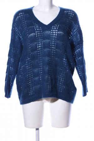 Claudie Pierlot Strickpullover blau Business-Look