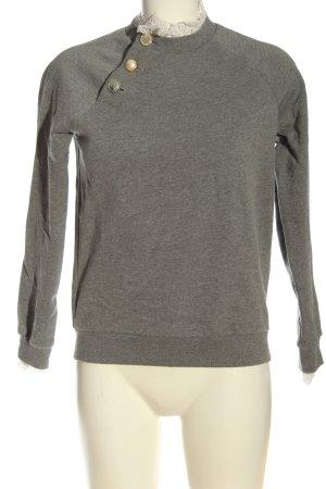Claudie Pierlot Sweat Shirt light grey-natural white casual look