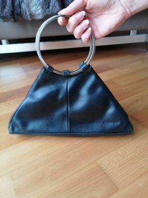 Claudio Ferrici, kleine Abendtasche aus Leder