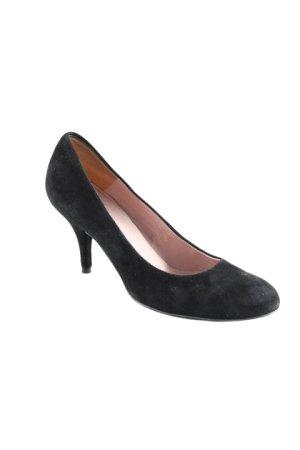Claudio High Heels schwarz-roségoldfarben Elegant