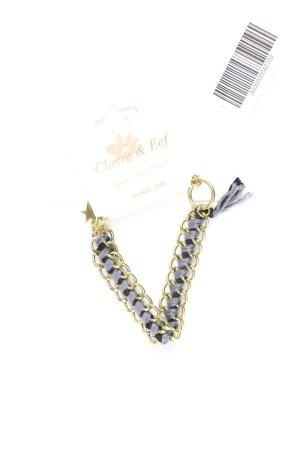 Clayre & Eef Armband blauw-neon blauw-donkerblauw-azuur