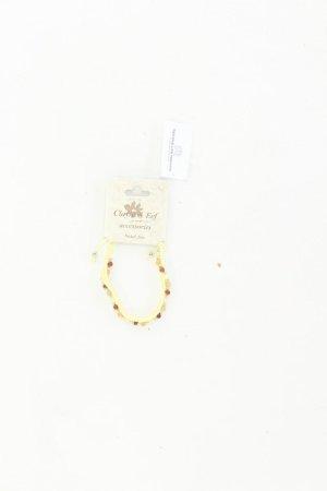 Clayre & Eef Armband neu mit Etikett gelb