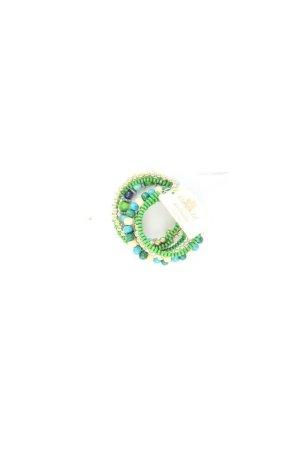 Clayre & Eef Armband groen-neon groen-munt-weidegroen-grasgroen-bos Groen